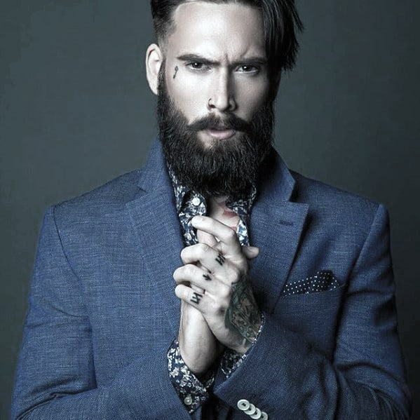 Cool Beard Style Idea On Man