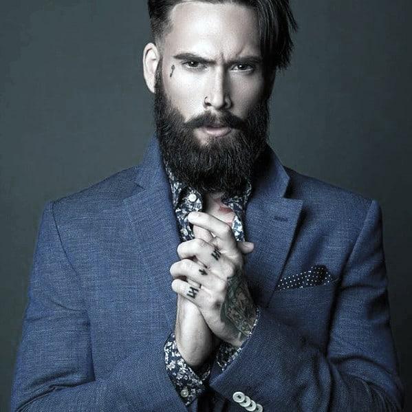 Miraculous 60 Cool Beard Styles For Men Princely Facial Hair Ideas Short Hairstyles For Black Women Fulllsitofus