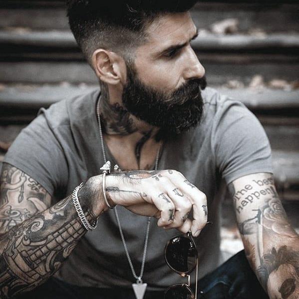 Swell 60 Cool Beard Styles For Men Princely Facial Hair Ideas Short Hairstyles For Black Women Fulllsitofus