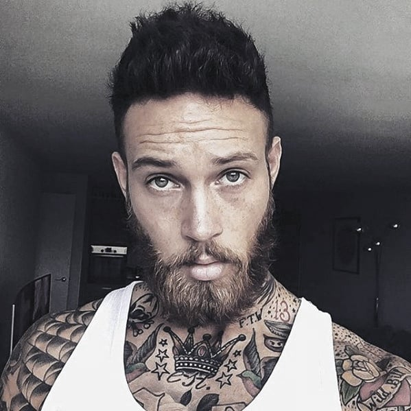 Magnificent 60 Cool Beard Styles For Men Princely Facial Hair Ideas Short Hairstyles For Black Women Fulllsitofus