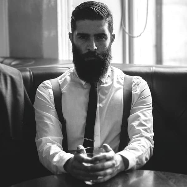 Cool Bearded Mens Stylish Haircuts