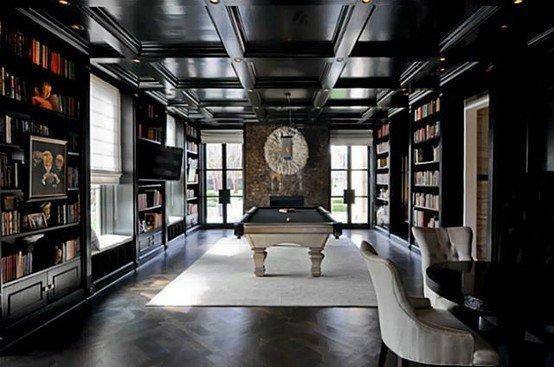 Cool Billiards Room Design Ideas