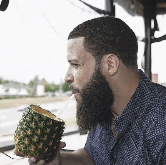 Cool Black Men Beard Full Style Ideas