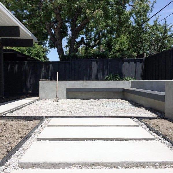 Cool Black Modern Fence Design Ideas