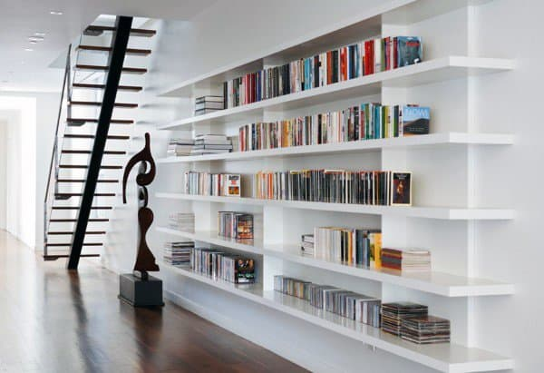 Cool Bookshelf Designs & 70 Bookcase Bookshelf Ideas - Unique Book Storage Designs