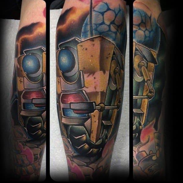 Cool Borderlands Tattoo Design Ideas For Male