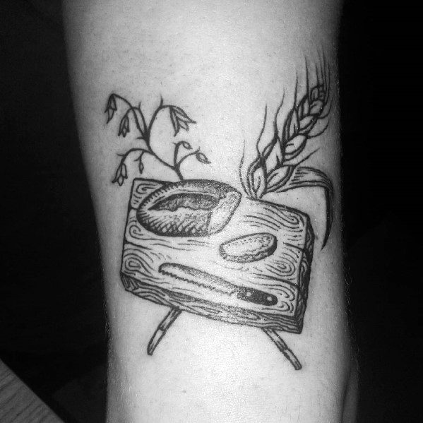Cool Bread Tattoos For Men
