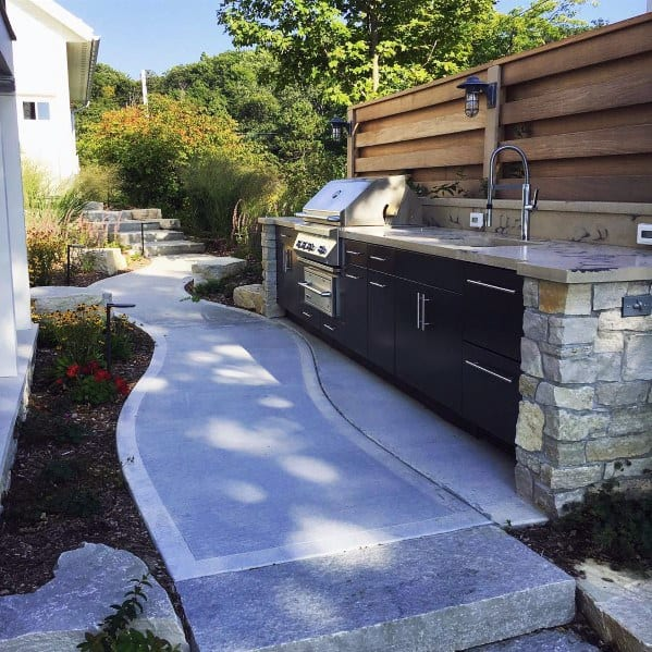 Cool Built In Grill Design Inspiration