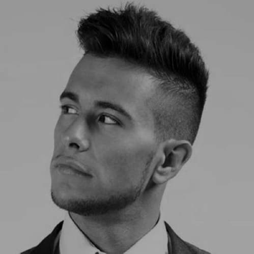 Cool Buzzed Men's Hairstyles