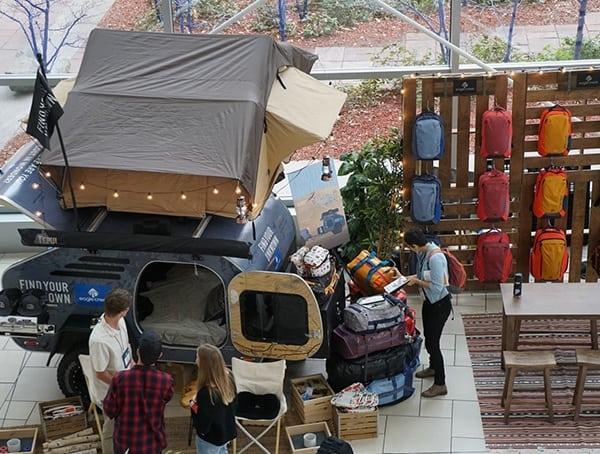 Cool Camper Display At Outdoor Retailer Winter Market