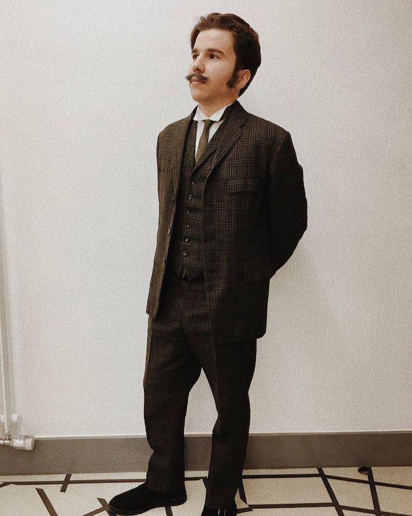 Cool Checkered Victorian Suit