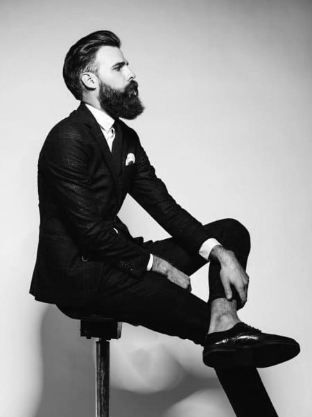 Cool Classy Hairstyles For Men With Beards