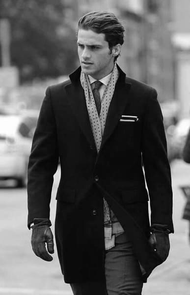 Cool Classy Slicked Back Mens Hair