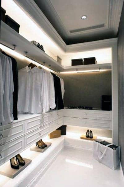Cool Closet Lighting Design Ideas