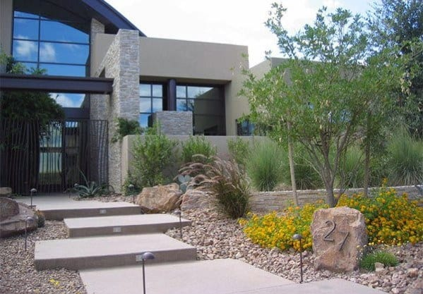 Cool Desert Landscaping Design Ideas For Front Yard
