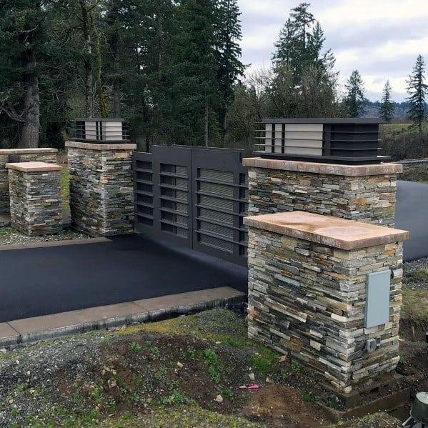 Cool Driveway Gate Ideas