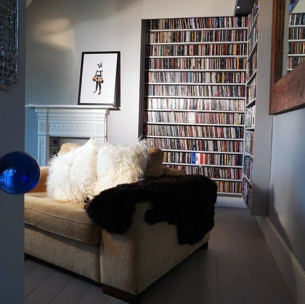 Charming Cool Dvd Storage Ideas