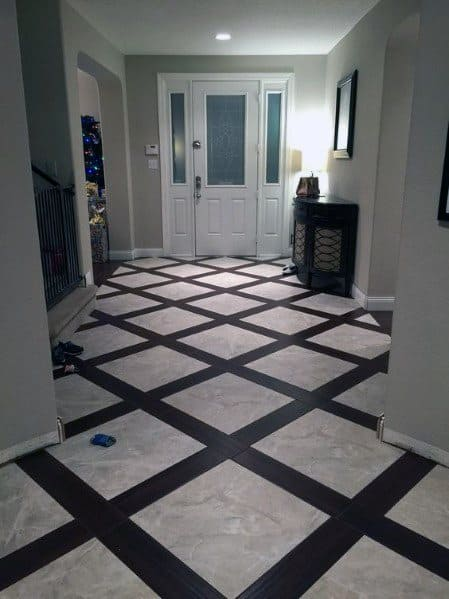 Foyer Tile Or Hardwood : Top best entryway tile ideas foyer designs