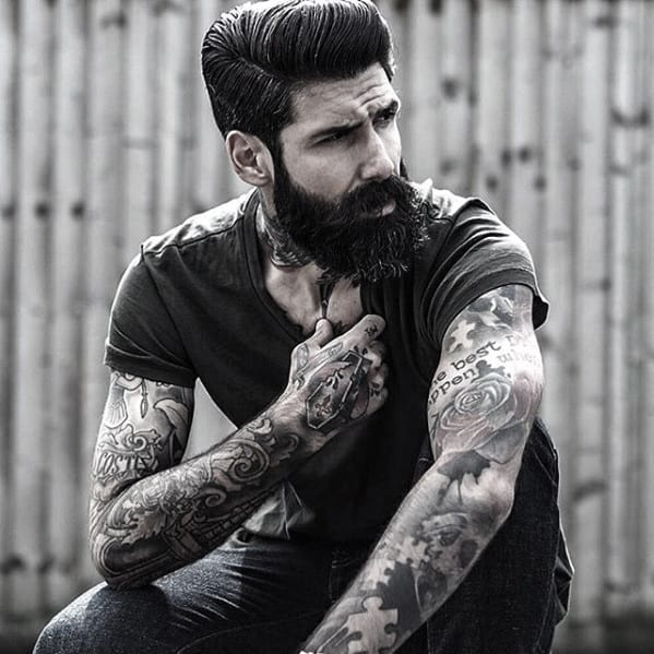 Cool Facial Hair Beard Styles For Men