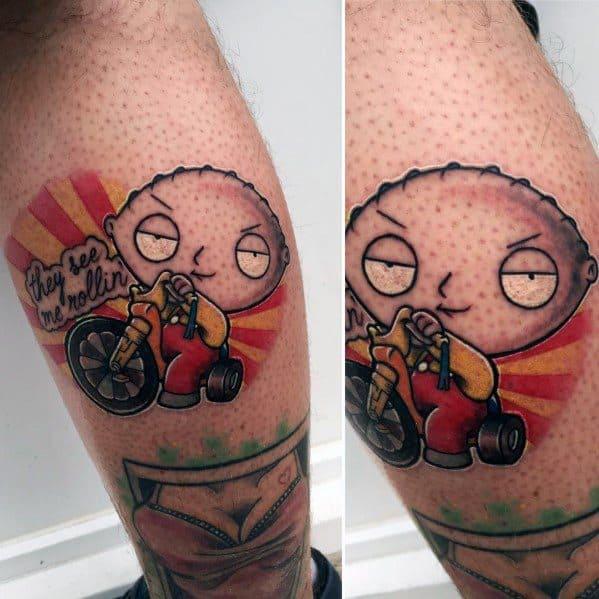 Cool Family Guy Tattoos For Men