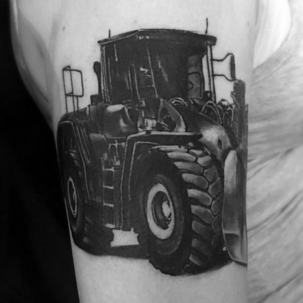 Cool Farming Tattoos For Men