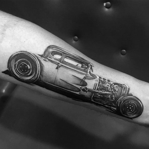 Cool Ford Tattoos For Men