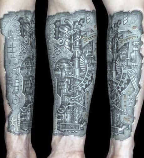 Cool Forearm Tattoos For Men