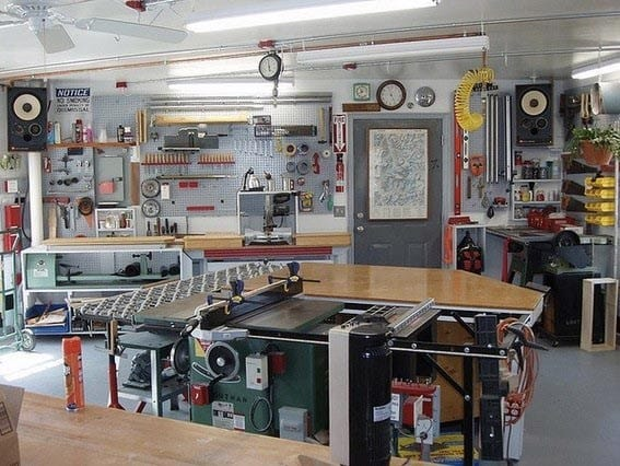 Cool Garage Workshop Ideas
