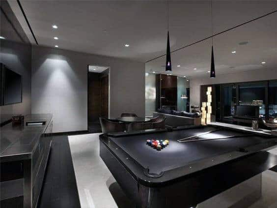 Game Room Design Ideas game room design Cool Gentlemens Bachelor Pad Game Room Design Idea Inspiration