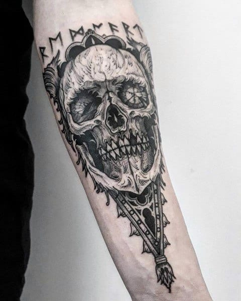 Cool Gothic Tattoos For Men