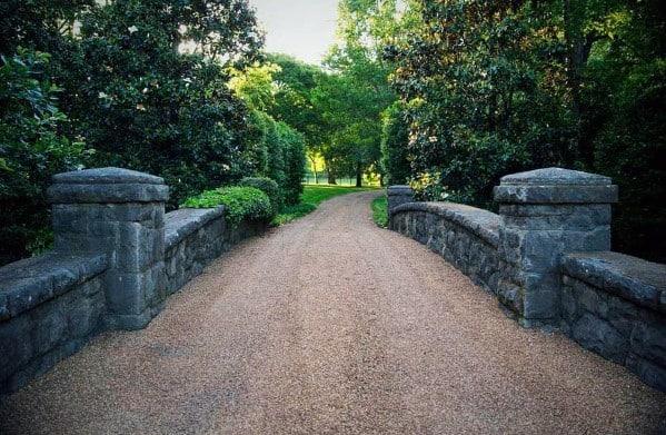Cool Gravel Driveway Design Ideas