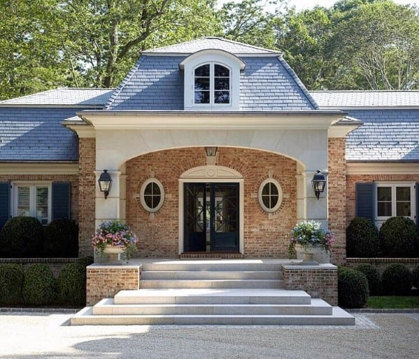 Cool Gravel Driveway Traditional Home Exterior