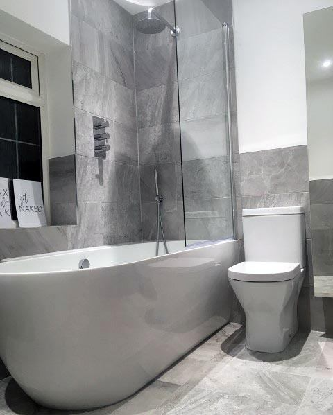 Cool Grey Bathroom