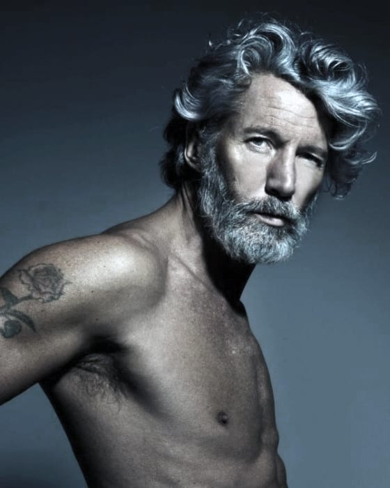 Cool Grey Beard Styles For Men