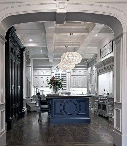 Cool Grey Kitchen Design Ideas