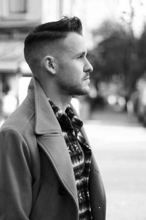 Cool Guys Short Fade Haircut