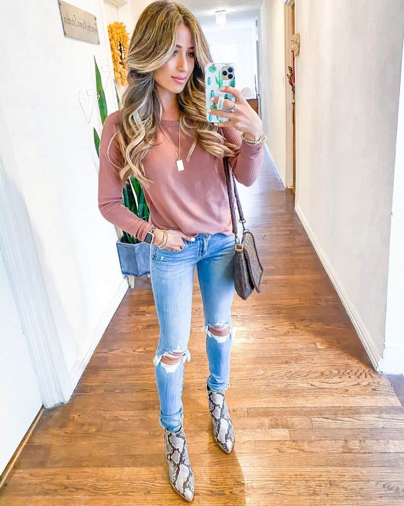 Cool Hair And Boots Outfit