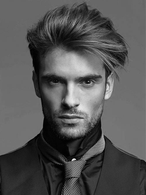 40 men 39 s haircuts for straight hair masculine hairstyle. Black Bedroom Furniture Sets. Home Design Ideas