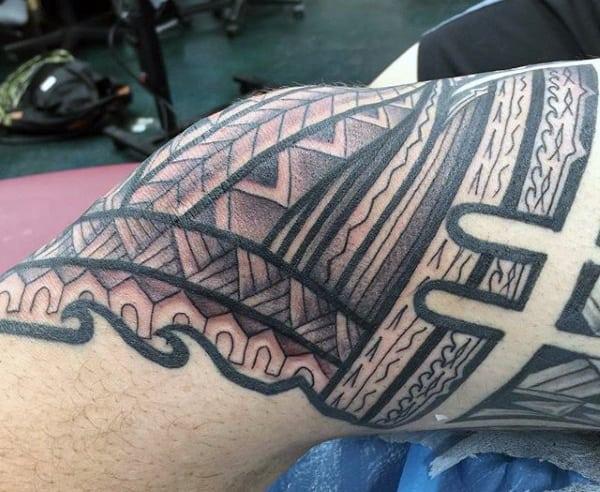Cool Hawaiian Tattoos For Males