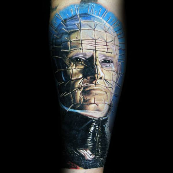 Cool Hellraiser Tattoos For Men