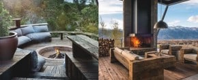 70 Outdoor Fireplace Designs For Men – Cool Fire Pit Ideas