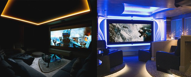 Home Theater Design Ideas decked out theater Cool Home Theater Design Ideas For Men