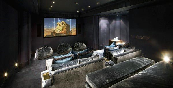 Cool Home Theater Lighting Design Ideas