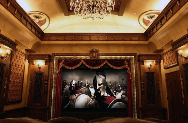 Cool Home Theater Lighting