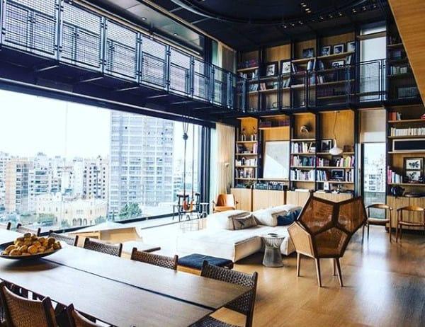 Cool Huge Living Room Open Floor Plan Ideas For Guys