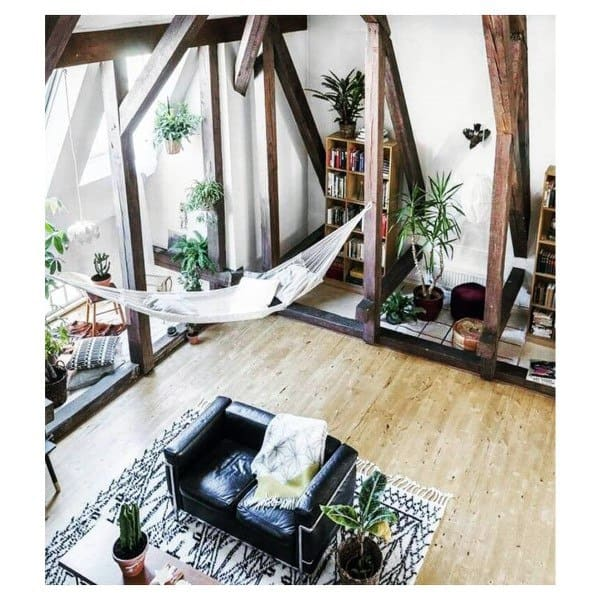 Cool Indoor Hammock Design Ideas