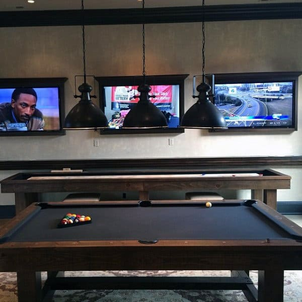 Cool Industrial Mens Game Room Ideas