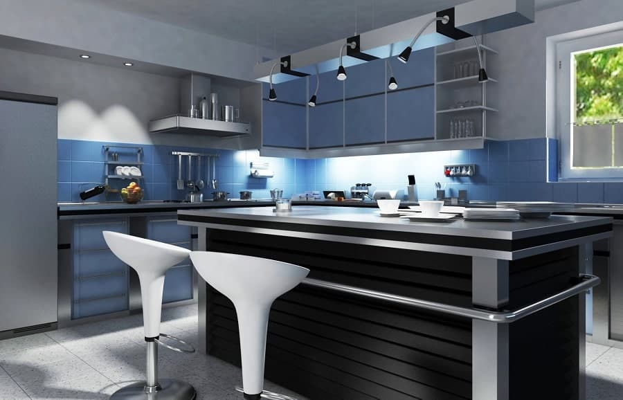 modern kitchen bar ideas