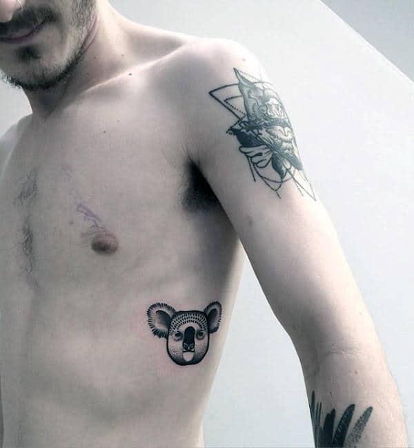 30 koala tattoo designs for men wild animal ink ideas. Black Bedroom Furniture Sets. Home Design Ideas