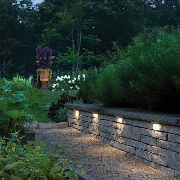 Cool Landscape Lighting Design Ideas For Backyard Garden Walkway